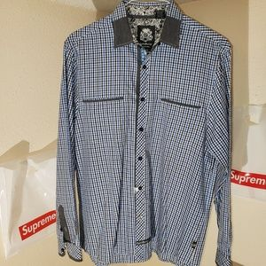 English Laundry Plaid Shirt